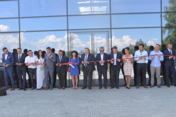 Wideo relacja z otwarcia firmy ALUBEST w Połańcu